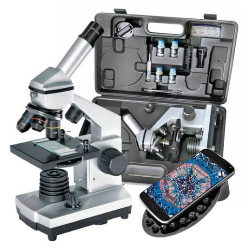 Bresser Biolux CA Microscoopset 40x-1024x met koffer