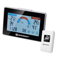 Bresser Thermo- / Hygrometer met ventilatie indicator