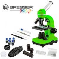 Bresser Junior Biolux SEL Studenten Microscoop - Groen