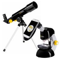 National Geographic Telescoop- en Microscoopset met Smartphone Adapter Tweedekans